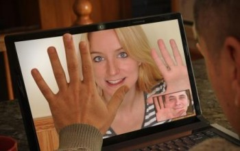 Laptop Video Chat