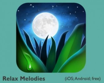 Relax Melodies App Logo