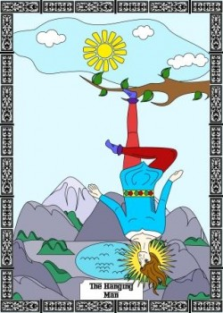 The Hanging Man Tarot