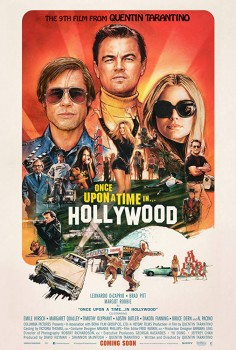 Once Upon a Time in Hollywood Movie Poster Columbia